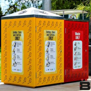 Litter Bins & Enclosures